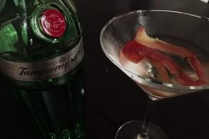 Tanqueray No. 10 Gin als Martini.