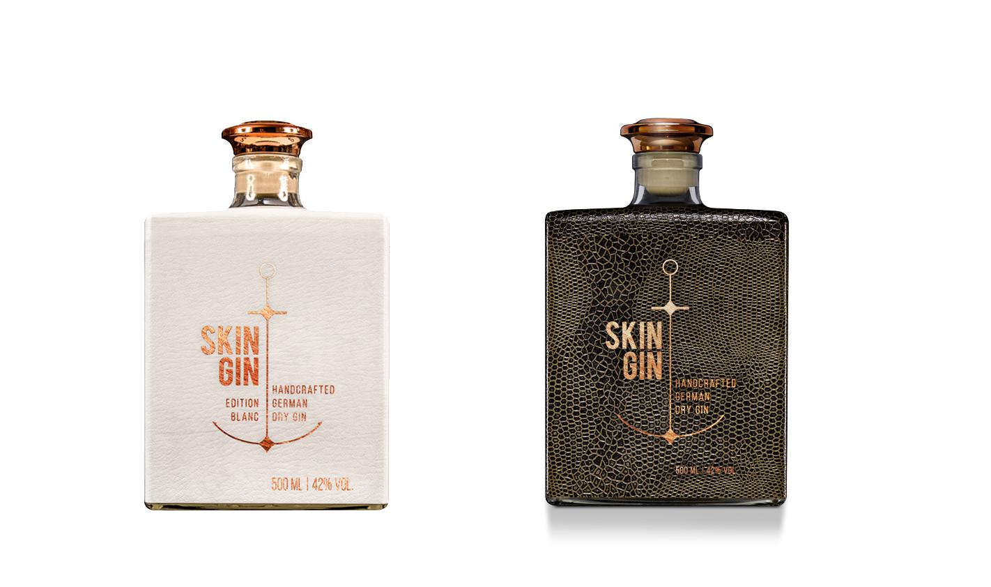 Skin Gin - zwei Designs, ein Geschmack.