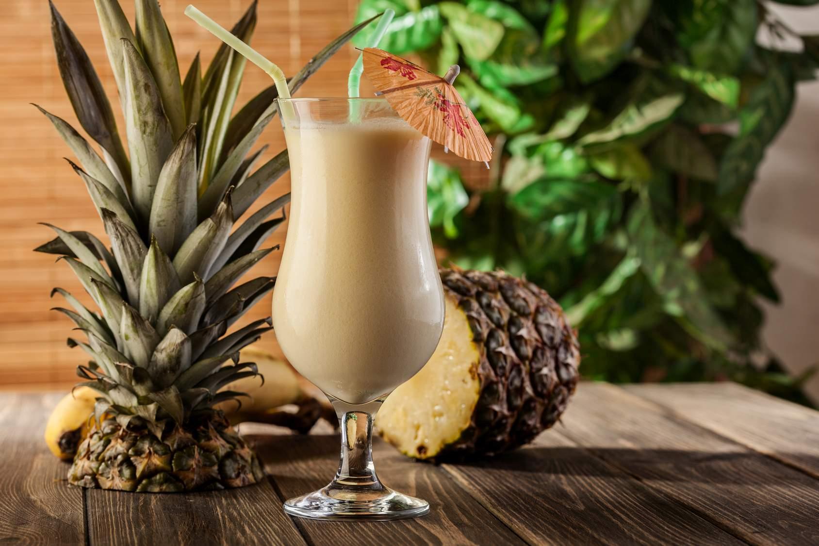 Ein Dreamlover-Cocktail mit Rum, Schokolikör und Milch. Quelle: Fotolia.com © fotek