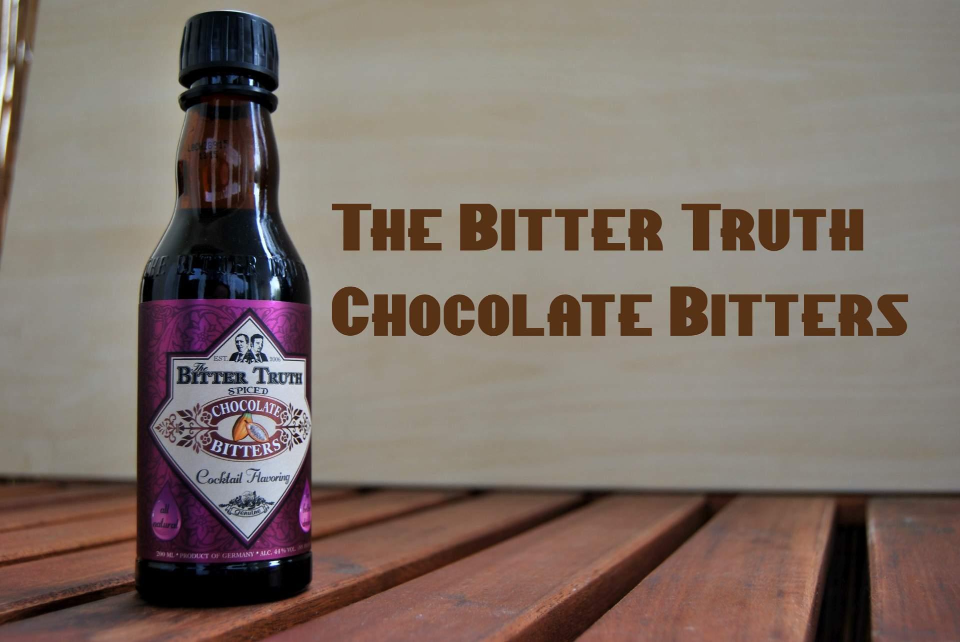 Chocolate Bitters für Cocktails von The Bitter Truth.