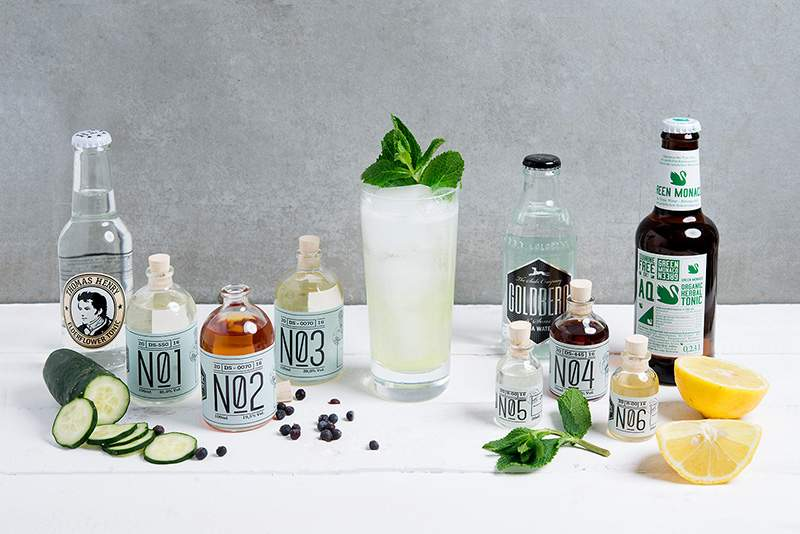 Der Mint Meadow-Cocktail aus der aktuellen Summer Highballs-Box. Bildquelle: Drink-Syndikat