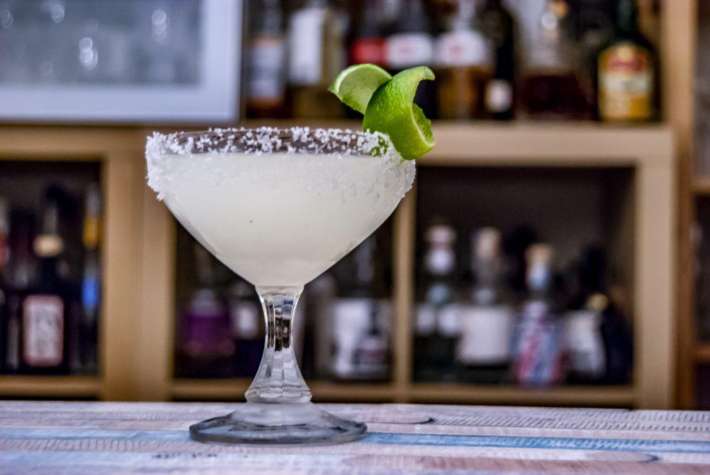 Eine Margarita kann man auch etwas edler servieren als im Standard-Margarita-Glas.