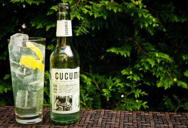 Cucumis Gurkenlimonade ist kein Tonic Water - aber passt trotzdem super in den Gin Tonic.
