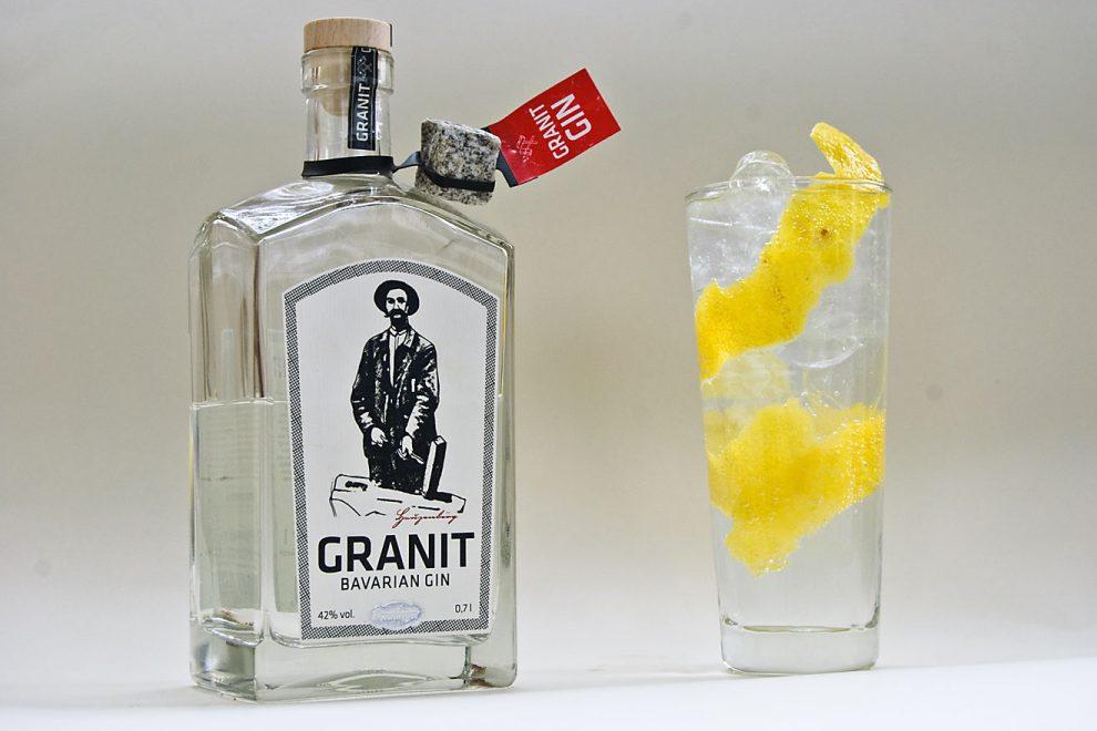 Granit Bavarian Gin vom Penninger - das klare Kind des Blutwurz
