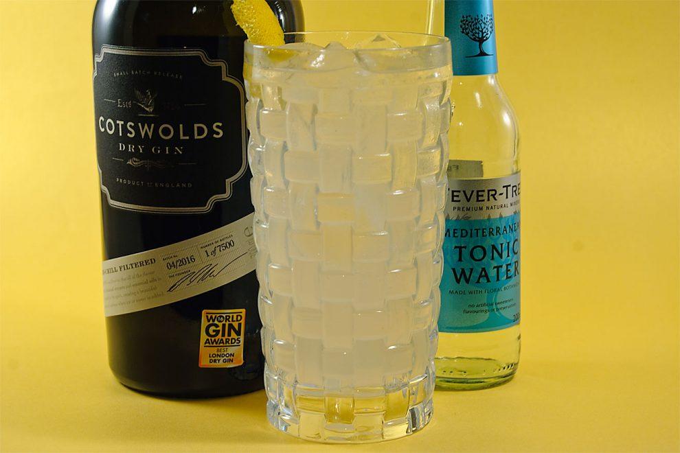Der Cotswolds London Dry Gin funktioniert hervorragend im Gin Tonic und in klassischen Cocktails.