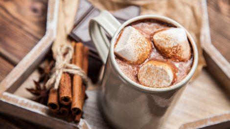 Die besten Alternativen zu Glühwein im Winter. Hier im Bild die Brandied Chocolate. © George Dolgikh - Fotolia.de