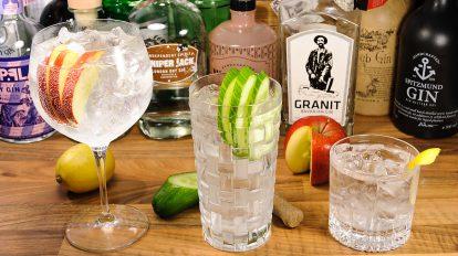 Gin Tonic gibt es in Tausend Varianten - und für jede davon gibt es das perfekte Glas, egal ob es sich dabei um Tumbler, Longdrink-Gläs oder die Copa handelt.
