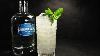 Der Juniper Jack Navy Strength Unplugged London Dry Gin gibt einen der gschmackigsten Gin Gin Mules den wir kennen.