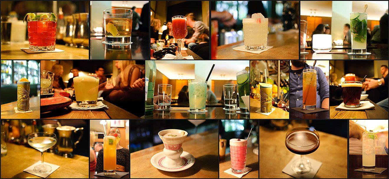 Aus 10 Cocktails in München wurden pralle 18 - hat sich aber gelohnt. Dafüs waren wir im Schumann's, in der Goldenen Bar und im Jaded Monkey.
