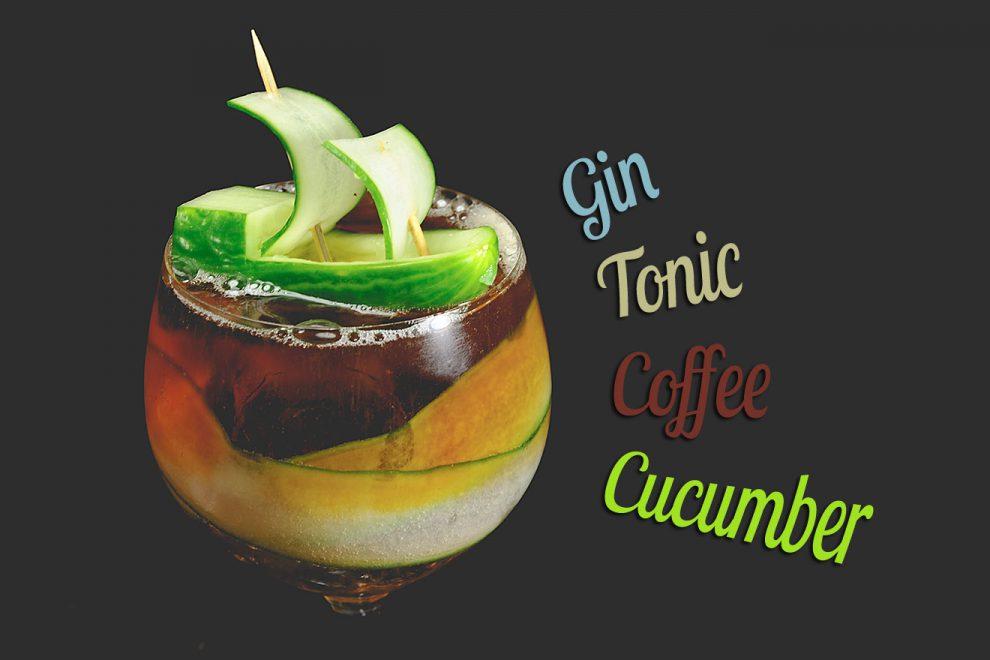 Der Gin Tonic Coffee Cucumber wird der Sommer-Drink 2017 - garantiert.