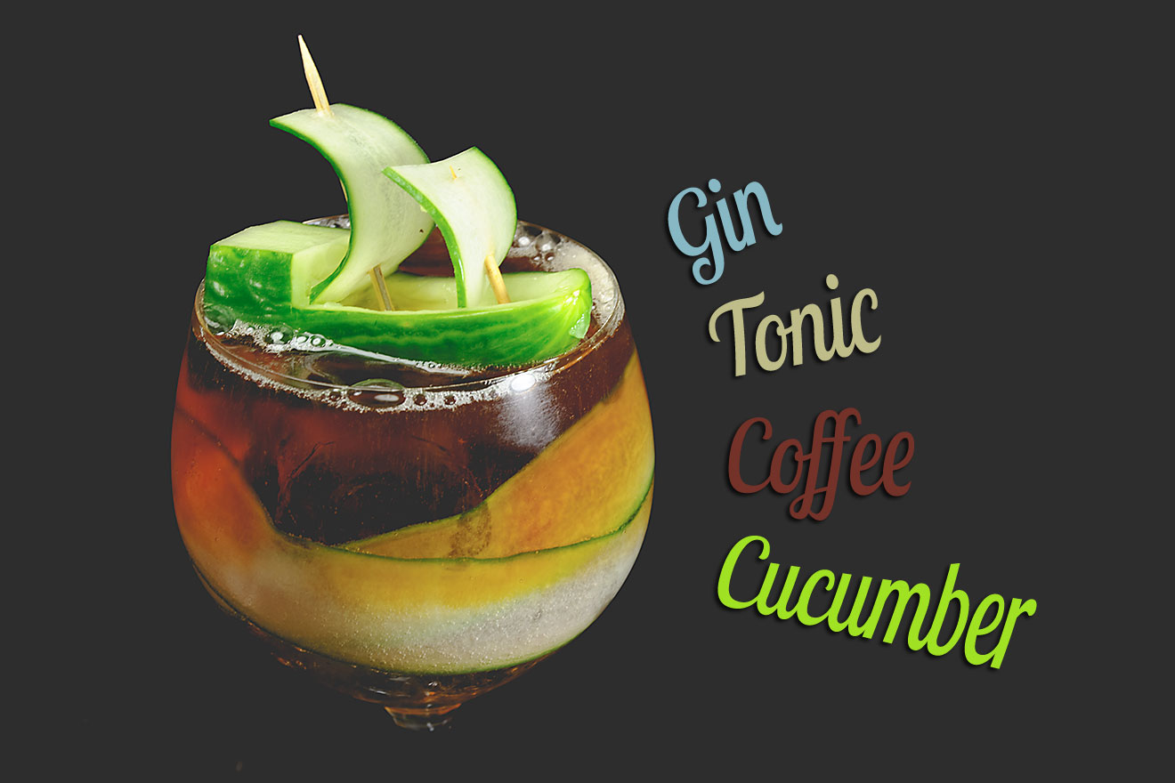 gin tonic coffee cucumber der g t mit cold brew und gurke. Black Bedroom Furniture Sets. Home Design Ideas
