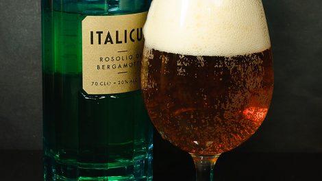 Italicus - Rosolio di Bergamotto in einem Indian Pale Ale. Leider so gar nicht unser Fall.