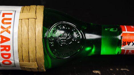 Luxardo Maraschino: der Flaschenhals.