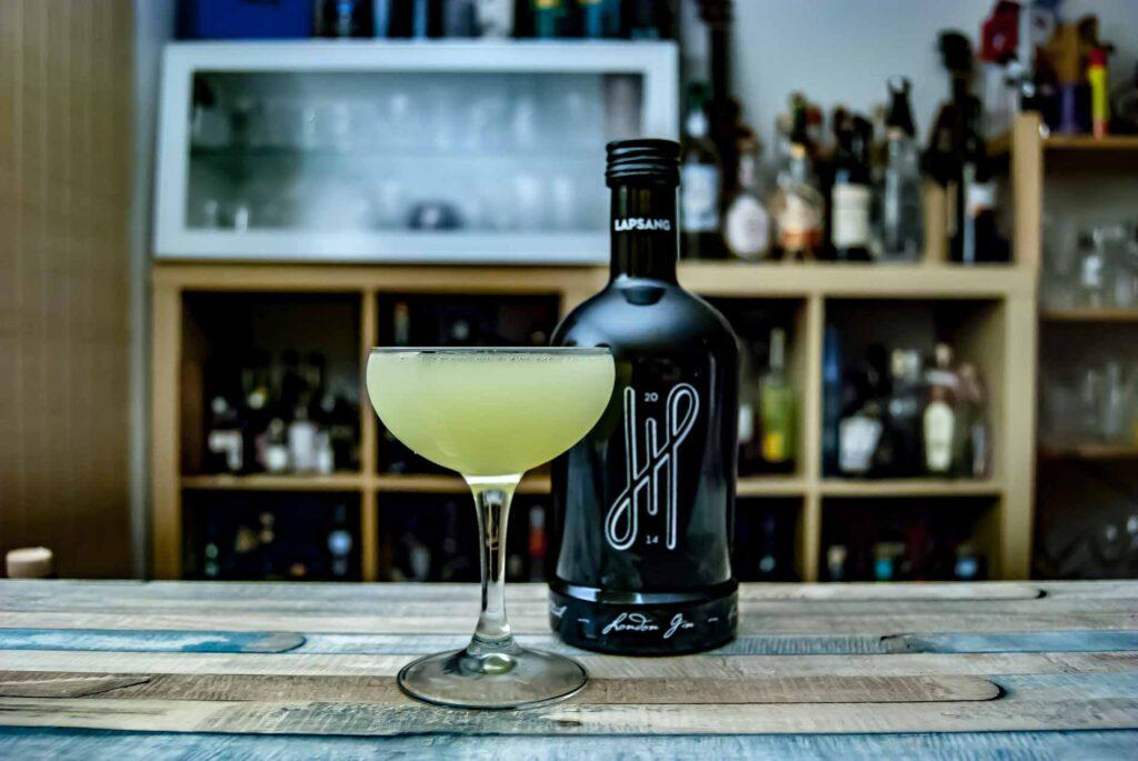 Hoos Lapsang in einem simplen aber genialen Gin Sour.