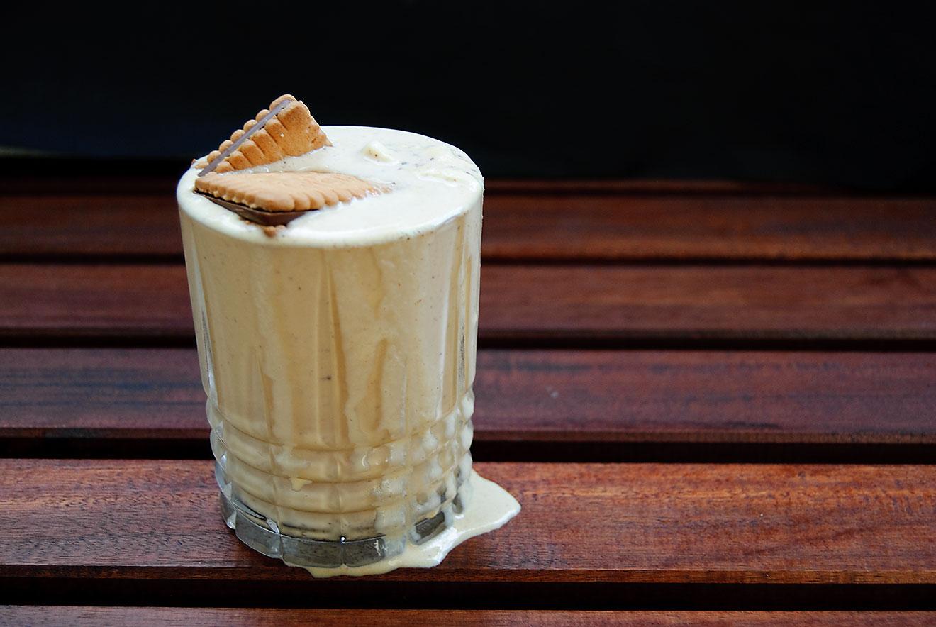 Der Pick-Up Dulce de Leche Bourbon Milkshake.
