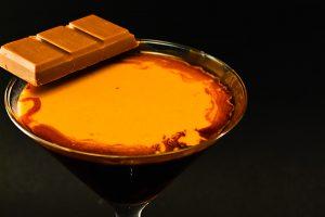 Der Chocolate Martini ist nicht wirklich süß - aber immerhin weniger trocken als ein Löffel Kakaopulver.
