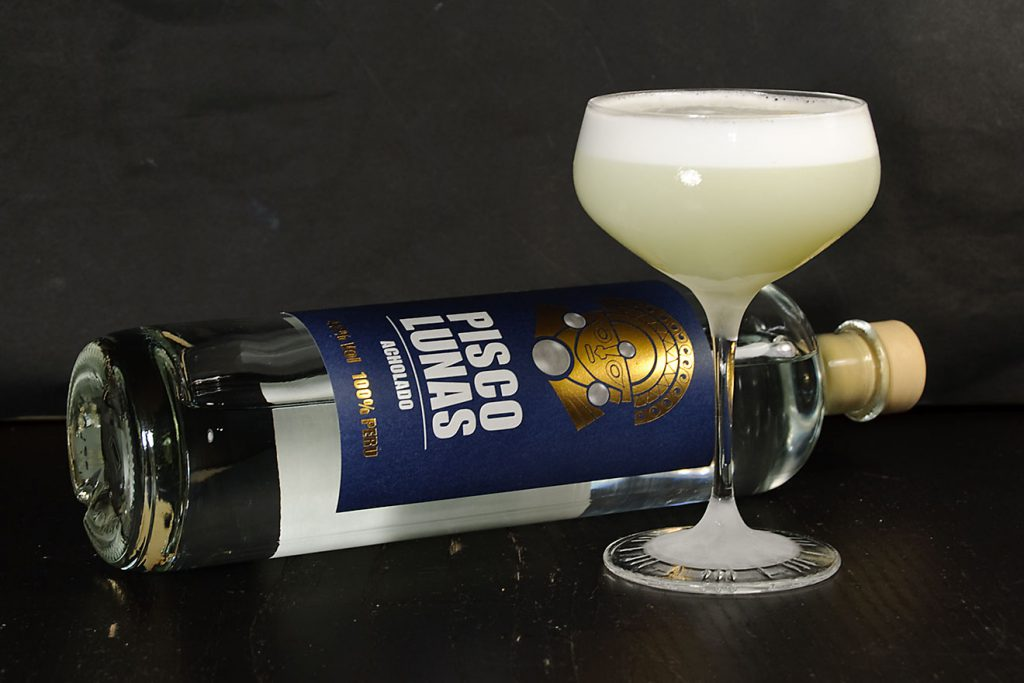 Pisco Lunas im Pisco Sour.