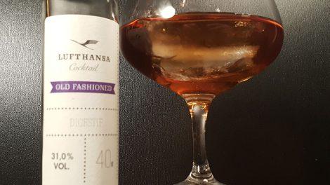 Der Old Fashioned von Lufthansa Cocktails.