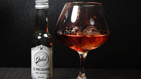 Ein El Presidente von Oaked Cocktails.