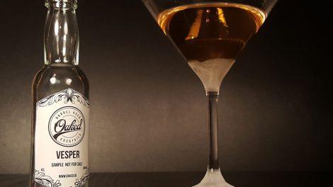 Ein Vesper Martini von Oaked Cocktails.