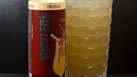 Eine Pina Colada von Shatler's.