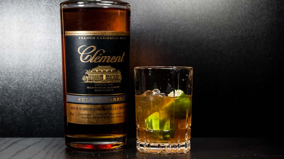 Der Clement Rhum Agricole Select Barrel im Ti Punch.