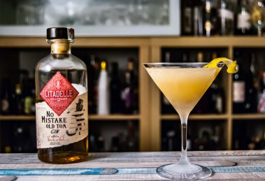 Der Citadelle No Mistake Old Tom Gin mit unserem Breakfast Martini No. 2.