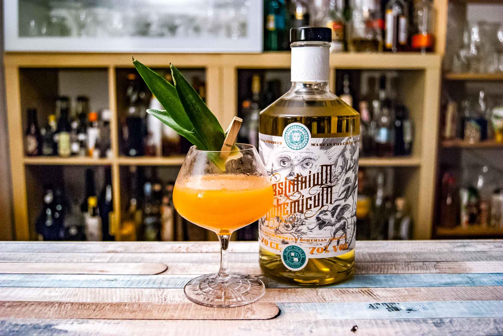 Absinthium bohemicum absinth hemingway breakfast cocktail for Cocktail hemingway