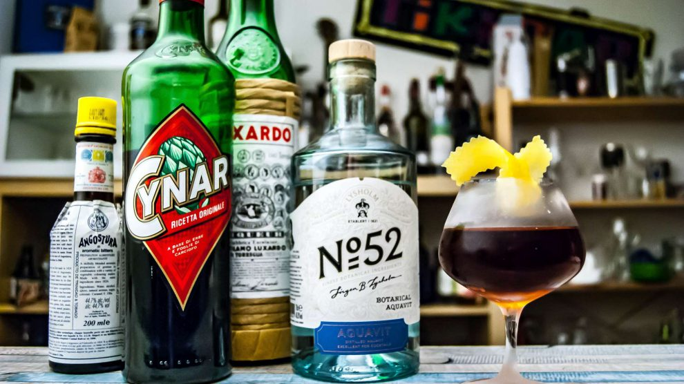 Lysholm No. 52 in einer Martinez-Variante namens Aquavito.