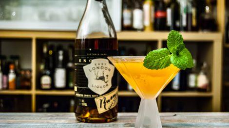 Ein Old Cuban mit East London Liquor Company Demerara Rum Navy Strength.
