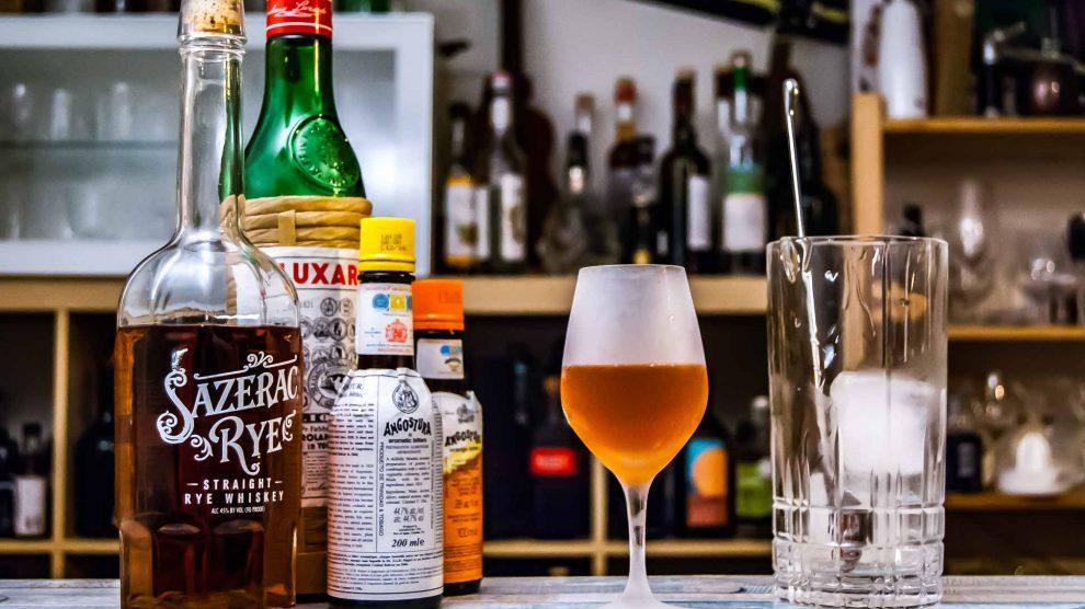 Der Sazerac Rye Whiskey im Fancy Free-Cocktail.