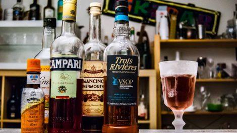 Der Trois Rivières VSOP im Pirate Slave Cocktail.