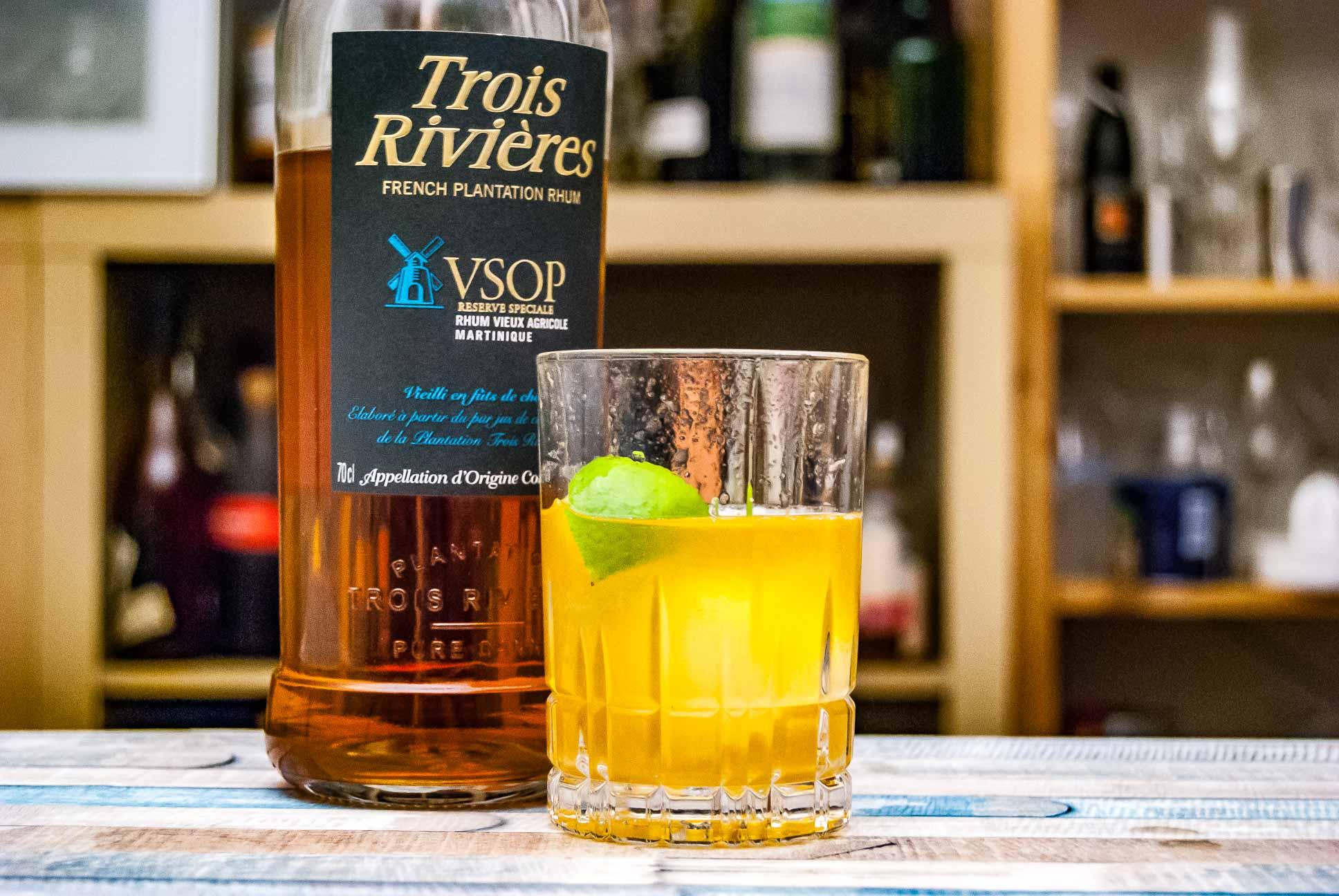 Der Trois Rivières VSOP im Ti Punch.