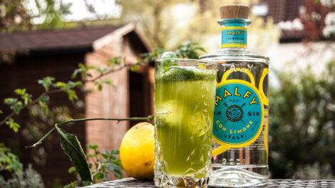 Malfy Gin con Limone im Ginger Basil Smash - allerdings mit etwas zu viel Ginger Beer.