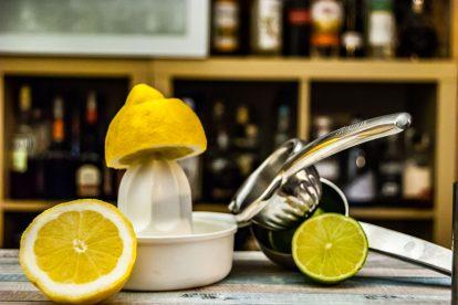 Die Zitruspresse ist eines der wichtigsten Handwerkszeuge in der Cocktailküche.