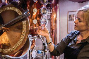 Myriam Hendrickx ist Master Distiller der Rutte Distillery in den Niederlanden. Bildquelle: Rutte