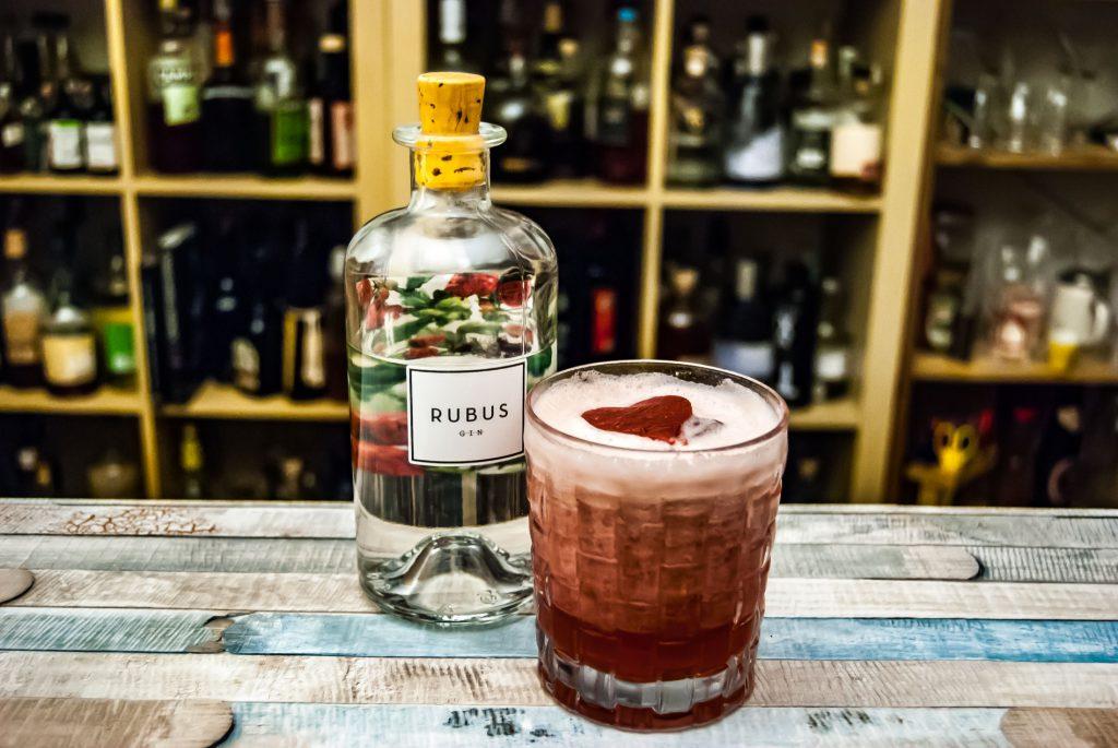 Rubus Gin in einem der besten Clover Clubs, die wir je hatten.