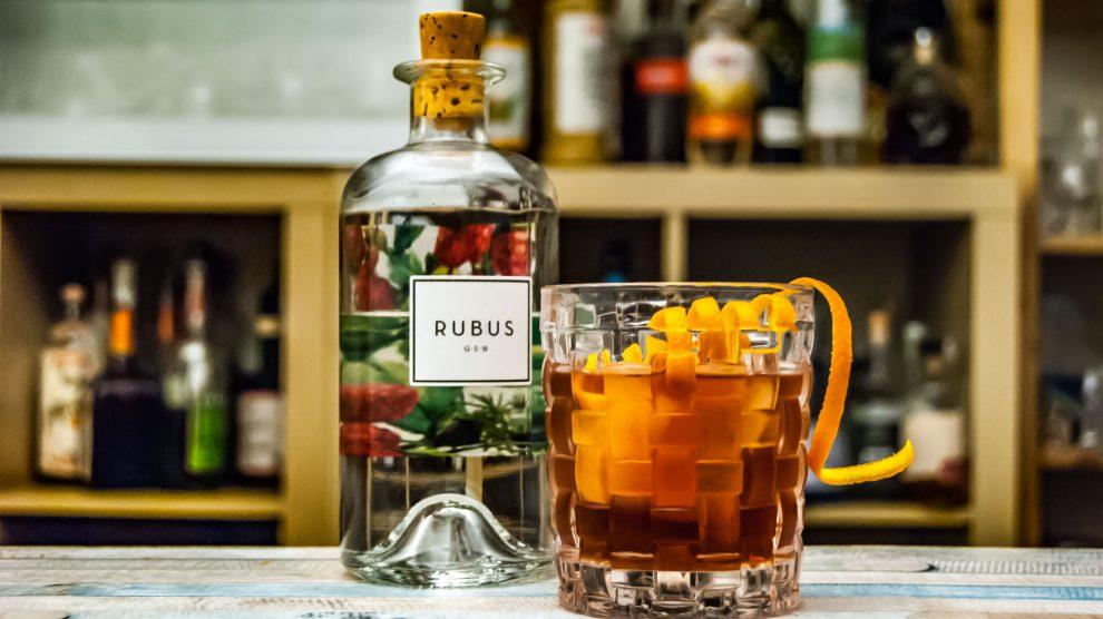 Rubus Gin im Negroni.
