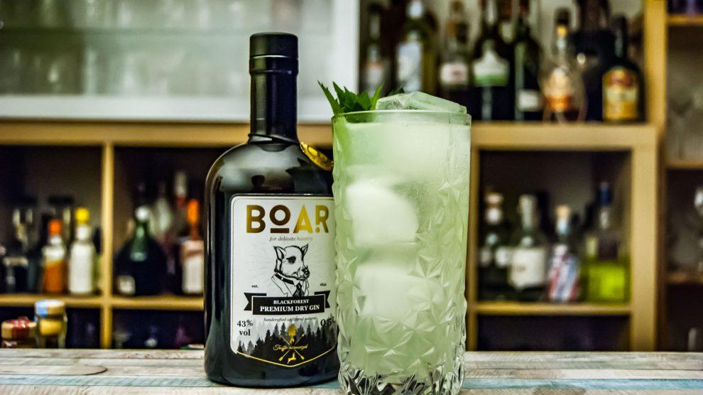 Boar Gin im Gin Gin Mule.