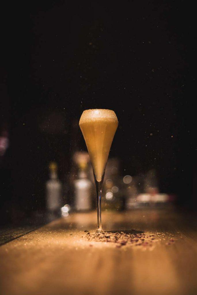Schampus macht auch ziemlich spannende Cocktails.