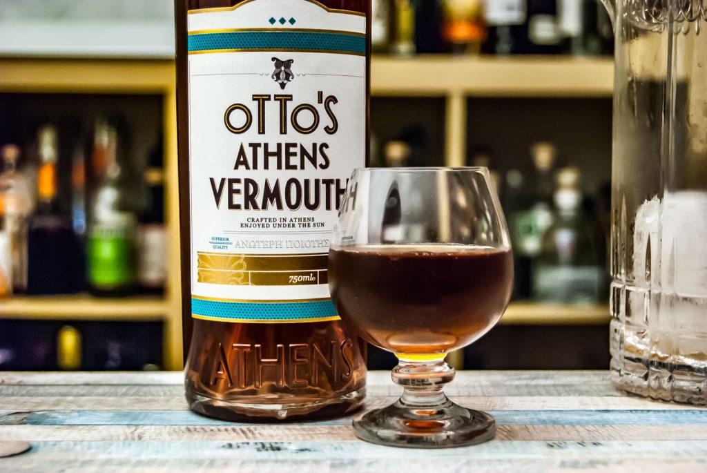 Der Otto's Athens Vermouth im Manhattan mit Bourbon.