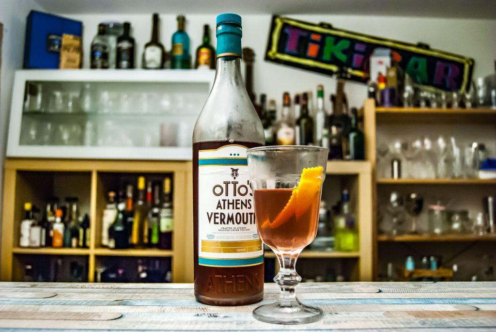 Der Otto's Athens Vermouth im Martinez Cocktail.