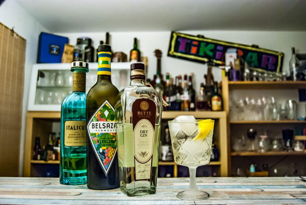 Der Festland Fizz mit Rutte Dry Gin, Italicus und der Belsazar Summer Edition.