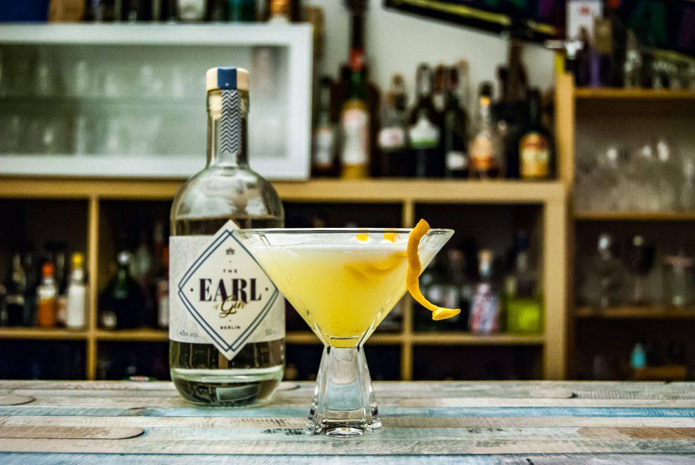Der Earl of Gin im British Breakfast - einem Hybrid aus Marteani und Breakfast Martini.