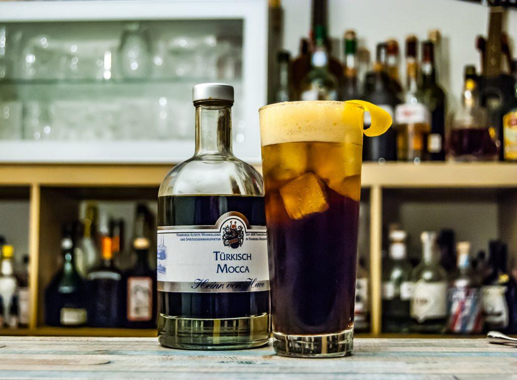 Der von Have Türkisch Mocca mit Ginger Ale. Glaubt uns einfach: das ist eine irre gute Nummer.