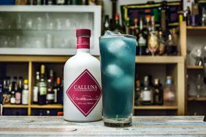 Calluna Gin im Cyan Fizz Cocktail!