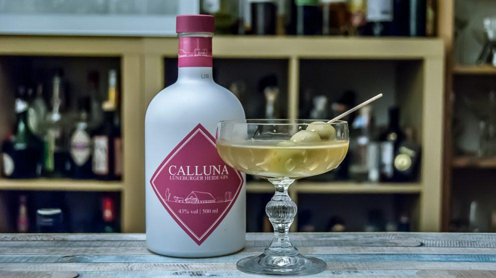 Calluna Lüneburger Heide Gin im Wet Martini.