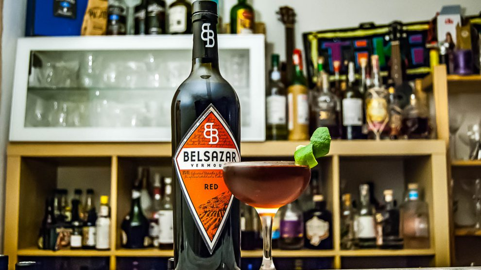 Beslazar Red Vermouth im Raicilla Manhattan.