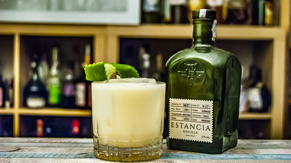 Estancia Racilla in der irre leckeren Buttermilch Margarita.