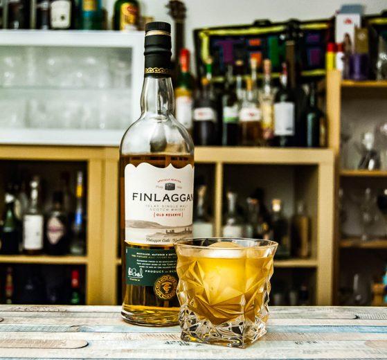 Finlaggan Old Reserve im Malt 'n Oil-Cocktail.